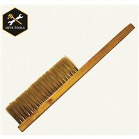 BEE BRUSH SOFT BRISTLE WD HNDL