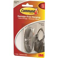 Command 17081BN Medium Designer Hook