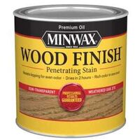WEATHERED OAK INT STAIN 1/2 PT