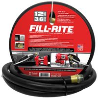Fill-Rite FRH07512 Fuel Transfer Hose with Static Wire