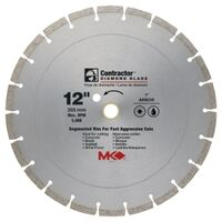 Contractor Plus Segmented Circular Saw Blade, 12""