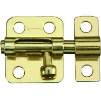 "Window Bolt, 2"" Brass"