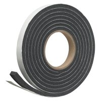 "Foam Tape, 3/4"" x  5/16"" x 10' Black"