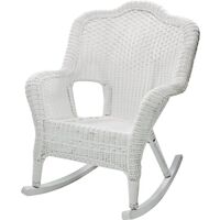 Savannah Outdoor Rocking Chair, White