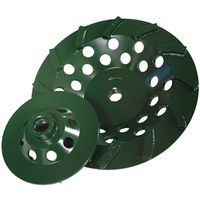 Diamond Products 94137 Spiral Turbo Cup Grinding Wheel