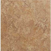 Vinyl Floor Tile, Brown Granite