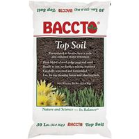 Michigan Peat 1550 Baccto Top Soil, 50 Lb