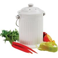 Ceramic Compost Crock, 1 Gal