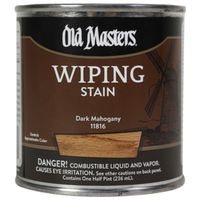 Old Masters 11816 Oil Based Wiping Stain