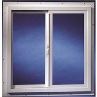 Duo-Corp 3020IGUT Double Slider Utility Window, 3 X 2 ft, Solid Vinyl