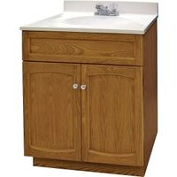 Bathroom Vanity Propack Combo, Oak