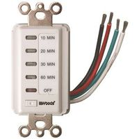 Woods 59008 Countdown In-Wall Timer