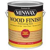 Minwax Wood Finish Interior Stain, 1 Gal Natural