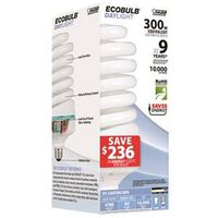 Feit ESL85T/D Compact Fluorescent Bulb, Medium Base, Daylight, 85W/300W Equiv