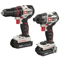 DRILL/DRIVER 2TOOL COMBO KIT