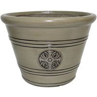 Dynamic Design Sherwood Modesto Planter 12 in W x 10-1/2 in H