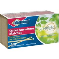 Strike Anywhere Matches, 3 Pk