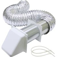 Lambro 1373W Preferred Hood Dryer Vent Kit