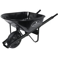 Steel Wheelbarrow, 6 Cu'