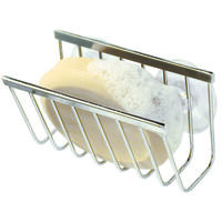 Sink Works Soap & Sponge Holder, Stainless Steel