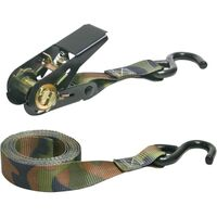 Ratchet Tie Down, 8' Camo