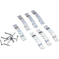 Nail In Self-Leveling Hangers, Zinc