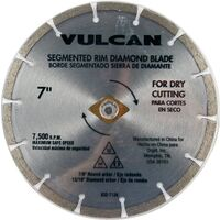 Diamond Segmented Rim Circular Saw Blade, 7""