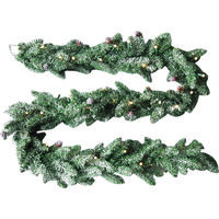 GARLAND 9FT LIT DECO UL