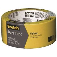 Scotch 1020-YLW-A Colored Duct Tape