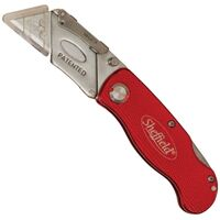 Lockback Folding Knife, Red