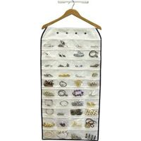Homebasix C2166JF5000-3L Canvas Jewelry Pocket Organizer