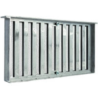 "Foundation Vent with Shutter, 16"" x 8"""