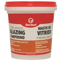 Red Devil 00139CA Pre-Mixed Glazing Compound