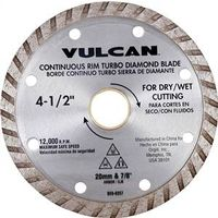 Vulcan 937341OR Turbo Continuous Rim Circular Saw Blade