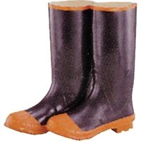 Rubber Knee Boot, Size 14