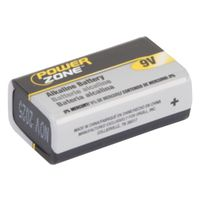 Powerzone 6LR61-1P-DB Alkaline Battery
