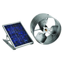 Gable Mount Solar Power Vent