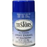 Testors Hobby Model Spray Paint, 3 oz Blue