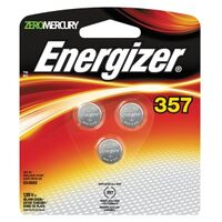 Energizer ZEROMERCURY Watch Battery, 1.55V