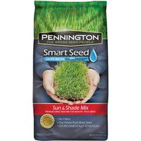 Pennington Seed 100086840 Smart Seed Grass Seed, Sun/Shade, 20 Lb
