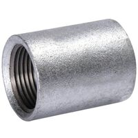 Galvanized Merchant Coupling, 3/4""