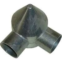 2-Way Bullet Cap for Chain Link Fence