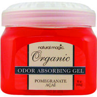 Odor Absorb Gel, 16 Oz, Pomegranate Acai