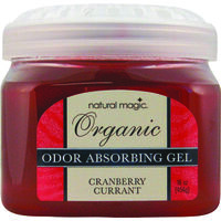 Odor Absorber Gel, 16 Oz, Cranberry
