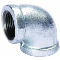 Galvanized 90 Degree Malleable Iron Elbow, 4""