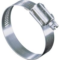 Plumbing Grade Pipe Clamp, #1 1/8-3 Steel