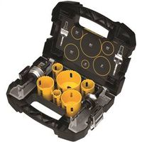 Dewalt D180002 Bi-Metal Electrician Hole Saw Kit