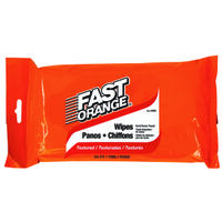 Fast Orange Hand Cleaner Wipes 25 Count