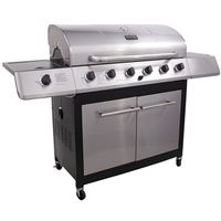 Char-Broil 463230514 6-Burner Gas Grill With Side Burner