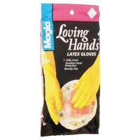 Hand Care Latex Gloves, Small